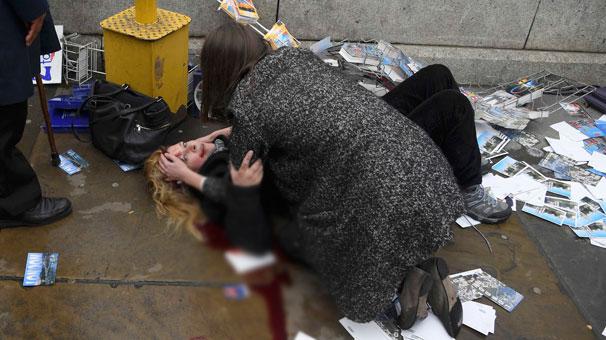 Londra'da terör saldırısı: 5 ölü 40 yaralı