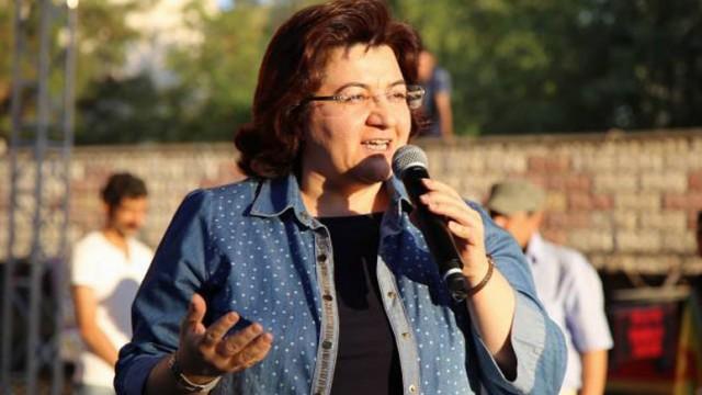 DBP eski Eş Genel Başkanı Emine Ayna gözaltına alındı