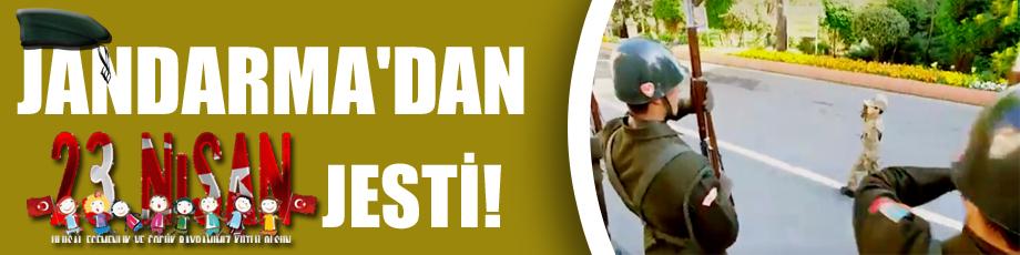 Jandarmadan 23 Nisan jesti!