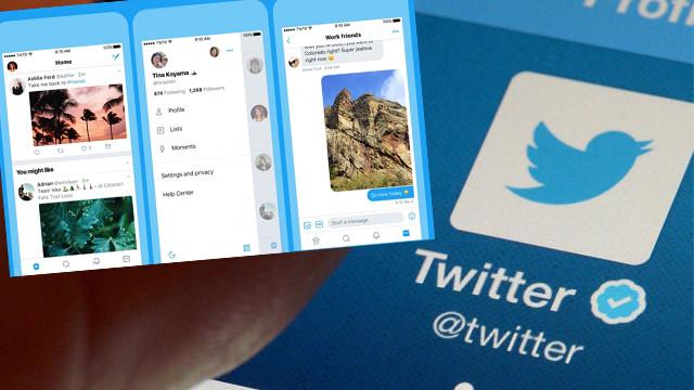 Twitterın tasarımı baştan aşağı yenilendi!