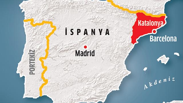 Jandarma Katalonyaya operasyon başlattı!