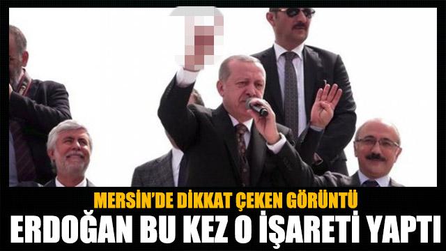 Erdoğandan bozkurt işareti