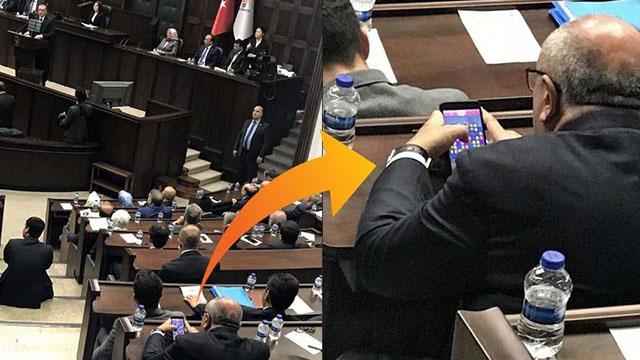 Türkeş fena yakalandı! Erdoğan konuşurken…