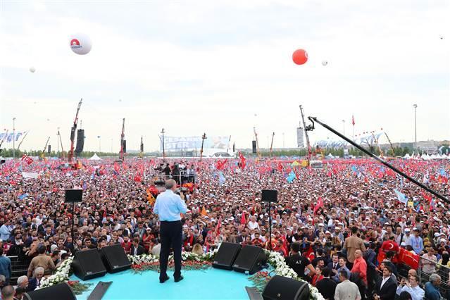Bu miting sonucu ilan etti: Erdoğan ilk turda tamam