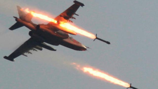 ABD uçakları Esad güçlerini vurdu