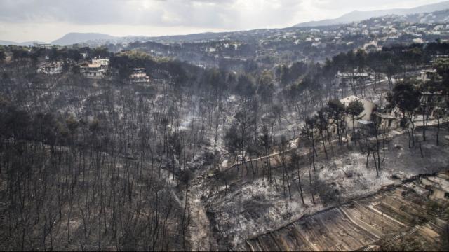 Yunanistanda yangınzedeler devlete dava açtı