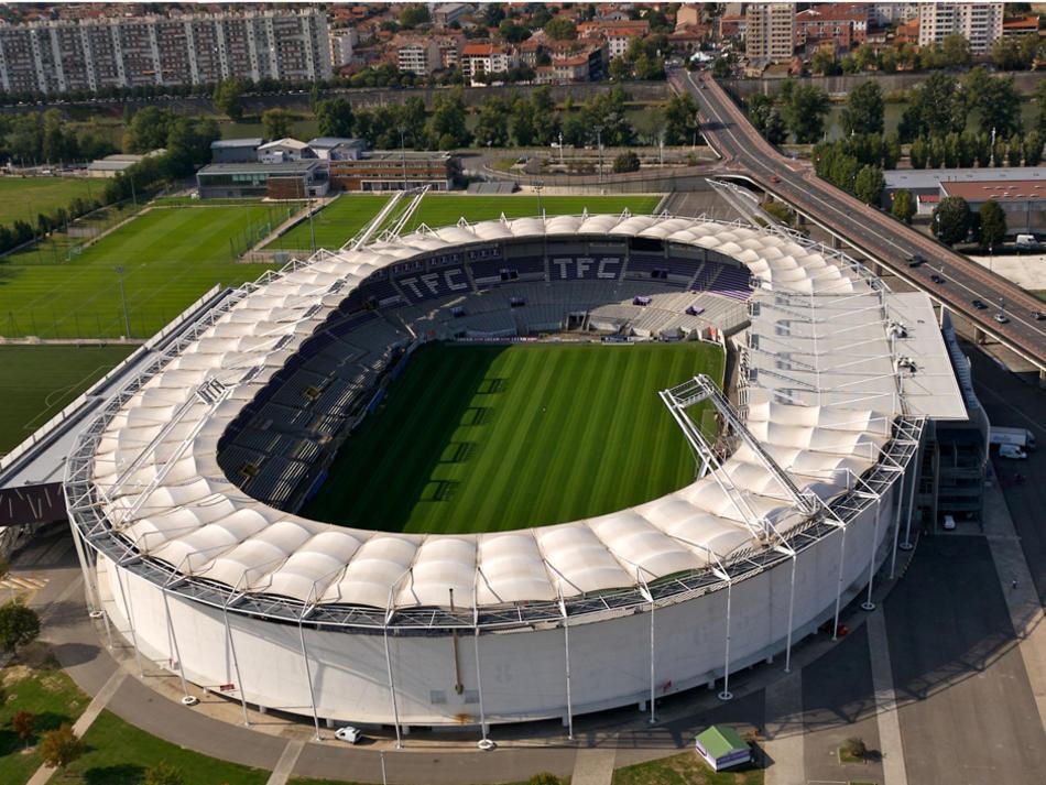 ผลการค้นหารูปภาพสำหรับ stadium de toulouse